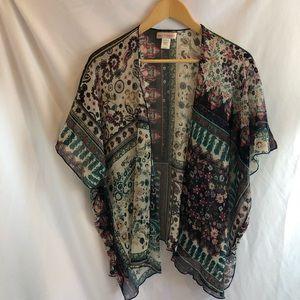 Band of Gypsies Sweaters - Band of Gypsies Kimono S/M wrap A31